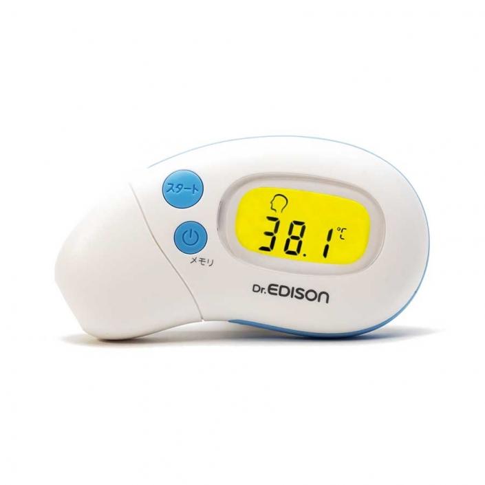 さっと測れる2way体温計